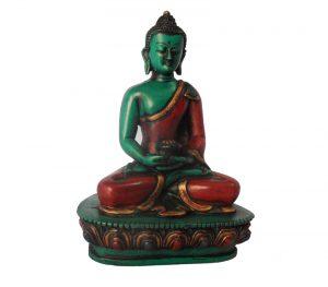 Red Robe Buddha Statue
