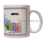 Cup with Nepal's map