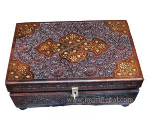 Nepali rectangle jewelry box