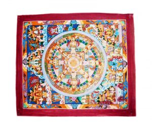 Small Mandal Thangka