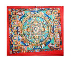 Red Mandal Thangka