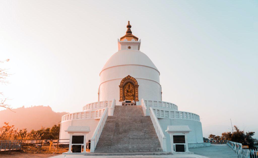 Buddha Stupa - Pokhara
