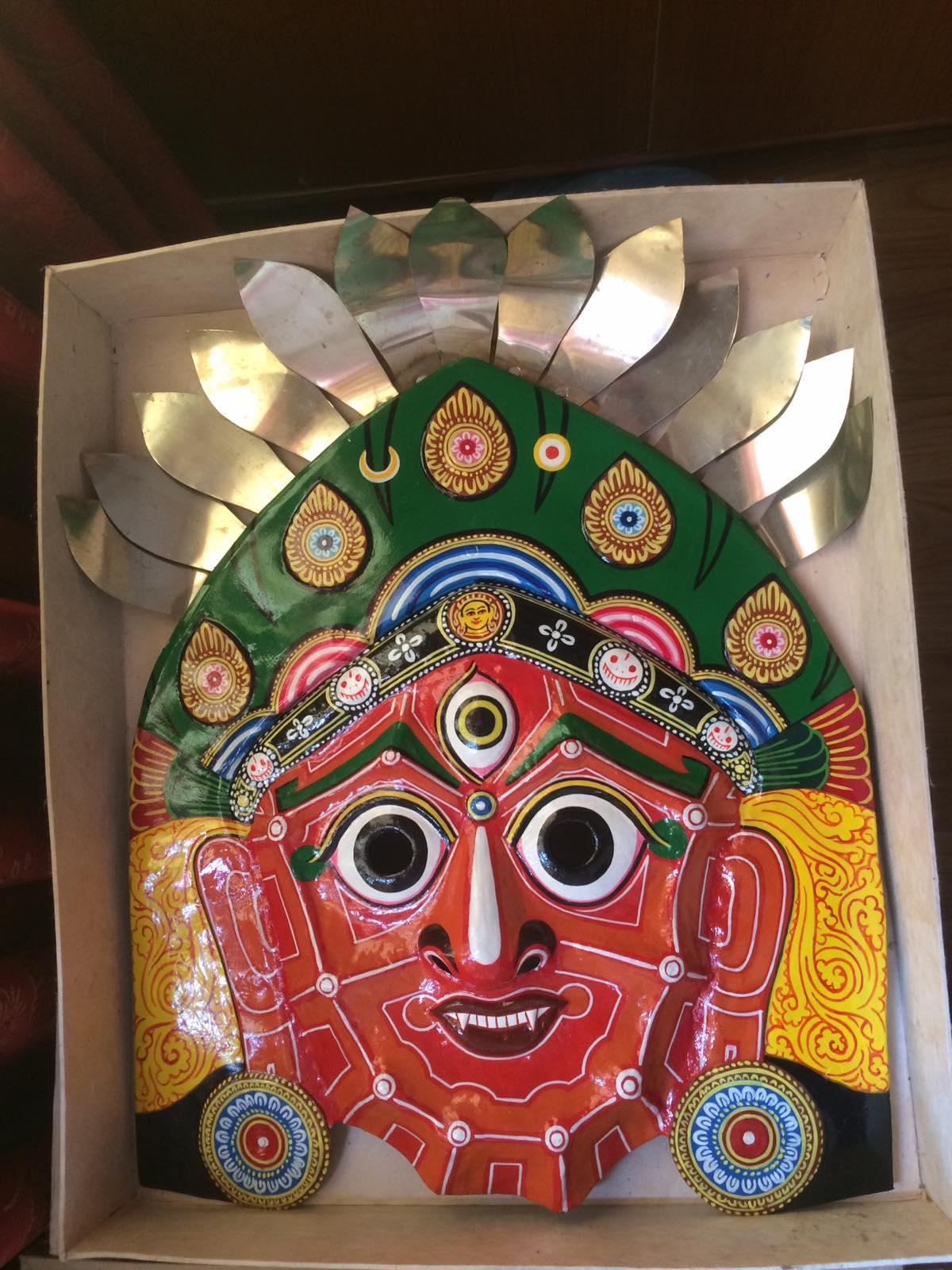 Mahakali Copper Mask
