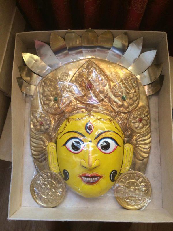 Mahalaxmi Copper Mask