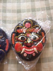 Madhu Kaitabha Demons Paper Mask