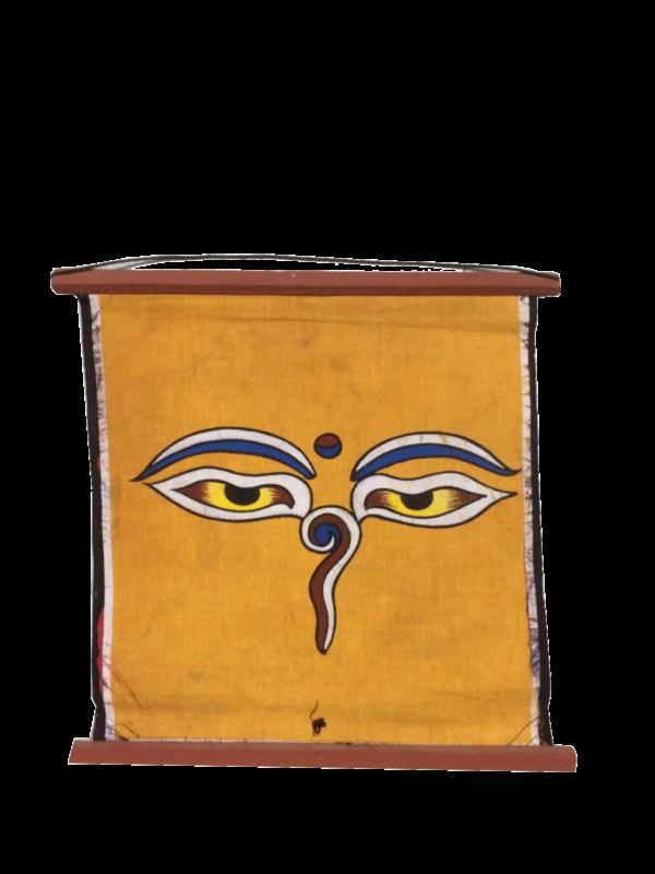 Batika Buddha Eye Painting