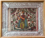 Mithila Art With Frame
