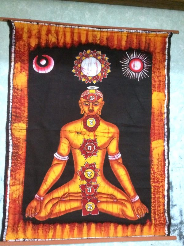 Batik Chakra Painting